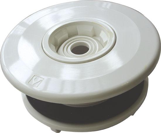 Дюза ЕВРО, с вставкой 14/20/25 мм, гайкой и уплотн., подключ. 2 х 50 мм, для сборн. басс.