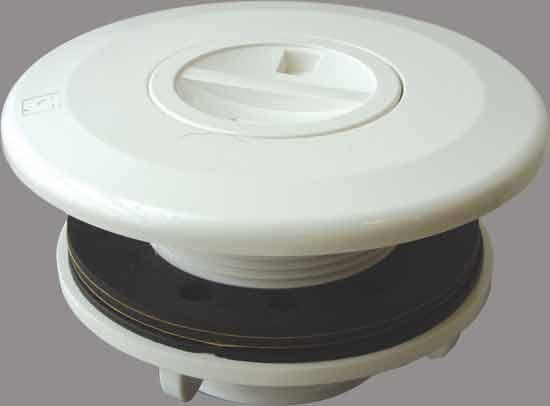 Дюза для подключения пылесоса ЕВРО, с гайкой и уплотн., подключ. нар. резьба 2 х 50 мм