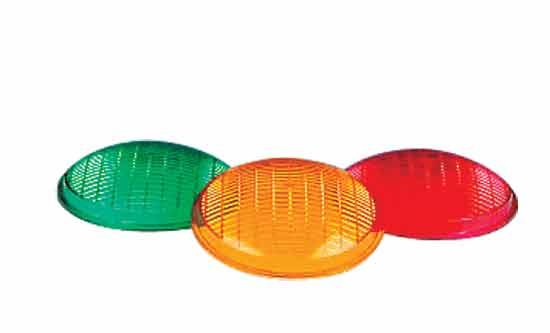 Светофильтр для фонарей Extra Flat, 100 Вт, красный