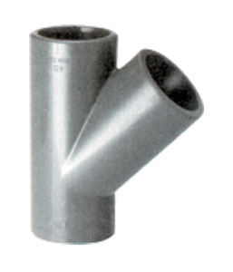 Тройник косой 45 град. 32 мм