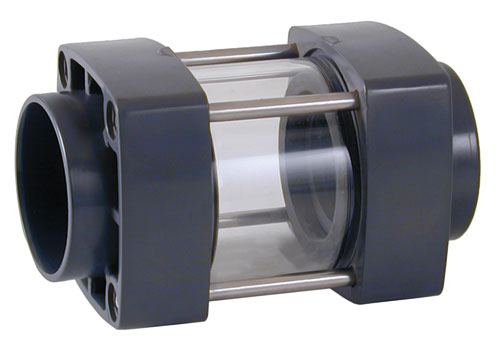 Прозрачная вставка 110 мм