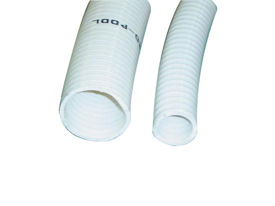 Шланг PVC 63 мм х 55 мм PN 5 (белый, непрозр. бухта 25 м)