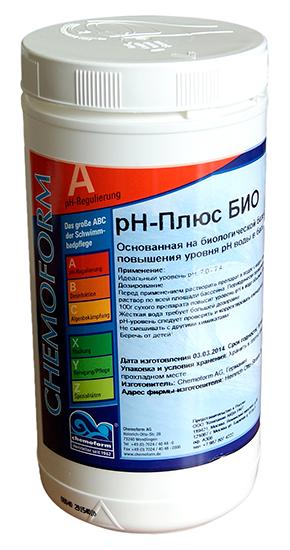 Гранулат PH-плюс БИО 1 кг