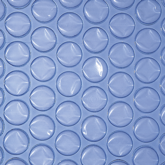 Теплоизоляционное покрытие с воздушными пузырьками, стандартное, темно-голубой цвет, размер 4,00 х 6,00 м