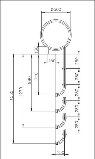 Доплата за ступень шириной 180 мм (ТИНА и другие модели IDEAL)