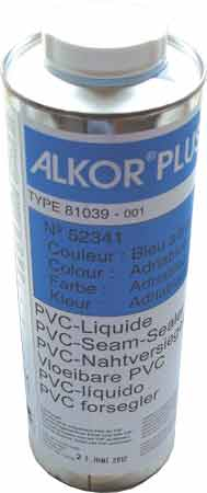 Жидкость для обработки шва в цвет пленки, прозрачная, 1л