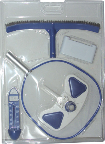 Набор  (термометр, набор проверки, щетка Стандарт, щетка для стен, сетка с алюм. рамой)