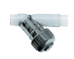 Грязевик прозрачный 63 мм (вставка заказывается отдельно)