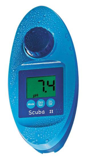 Электронный прибор проверки воды Pooltester Scuba II (Фотометр — хлор, PH, стабилизатор, общая щёлочность)