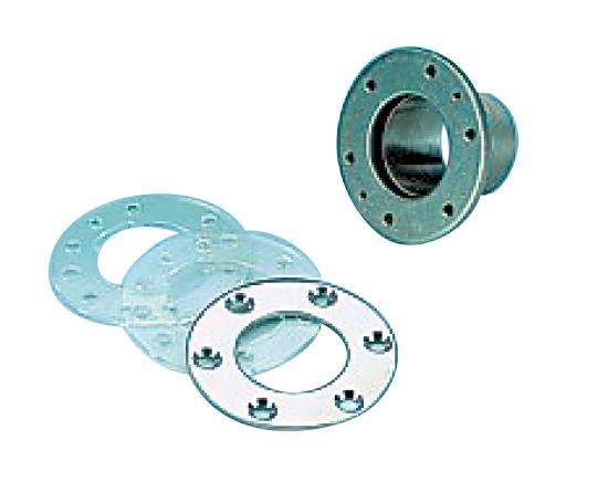 Дюза для подключения пылесоса с крышкой, нерж.сталь V4A, 1 1/2 НР х 50 мм