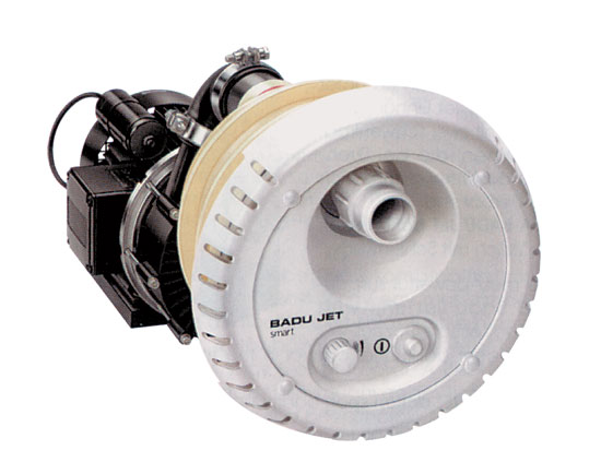 Противоток встраиваемый BADU Jet Smart, насосный комплект, дюза 40 мм, 380 В, 2,9 кВт
