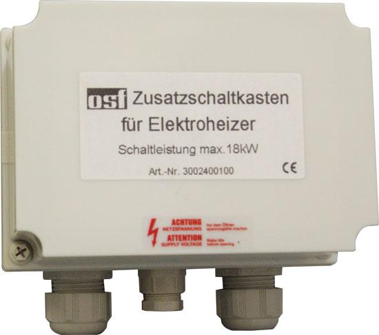 Блок подключения электроводонагревателей и других потребителей 220/380 В до 18 кВт (пускатель в корпусе)