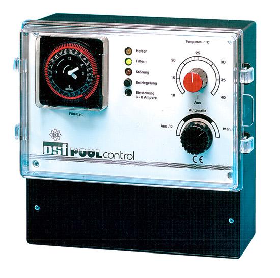 PC-400-ES, блок управления бассейна (фильтрация, нагрев) для 400 В и 230 В, защита двигателя 0-8 А