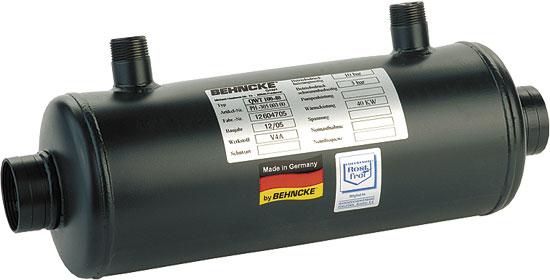 Теплообменник  QWT  30, 30 кВт (внутр. р-ба 11/2 )