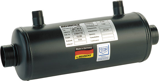 Теплообменник  QWT  20, 20 кВт (внутр. р-ба 11/2 )