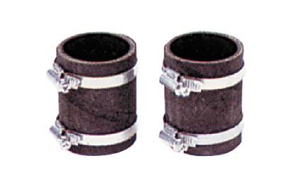 Комплект компенсаторов D 60 мм (2 компенсатора и 4 хомута)