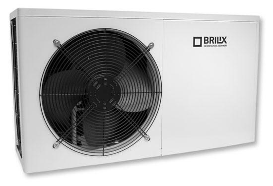 Тепловой насос NOVUM XHP 100, 230 В, 1,44 кВт / 9,0 кВт рек. для басс до 40 м3