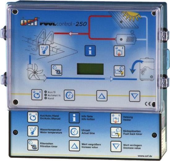 PC-250, блок управления бассейна 400 В/230 В