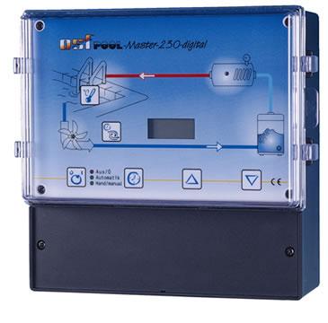 Pool-Master-230-digital, блок управления фильтрацией бассейна и нагревом с ЖК-дисплеем, 230 В