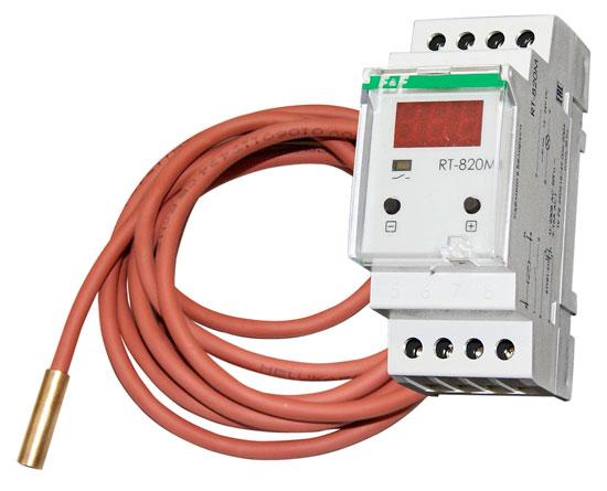 Электронный регулятор температуры — 25 +130 °C, 230 В, до 2 кВт