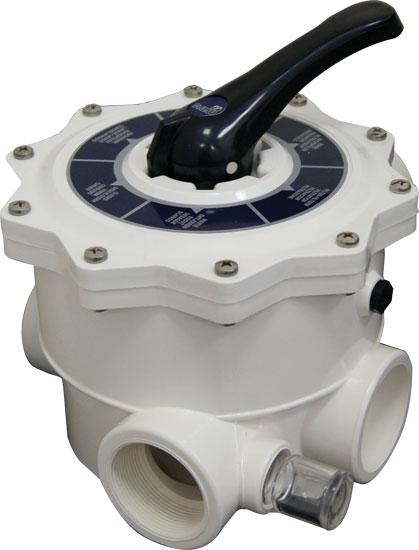 Клапан 6-ти позиционный 2, без фитингов подключения, универсальный