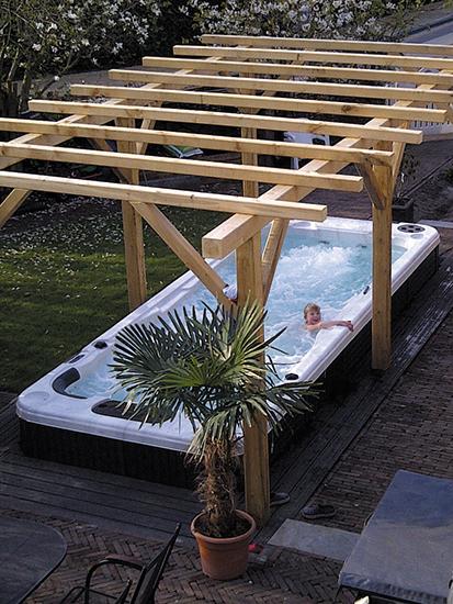 Гидромассажный бассейн Swimspa Aquatic 2 6,00 X 2.23 х 1,26 м