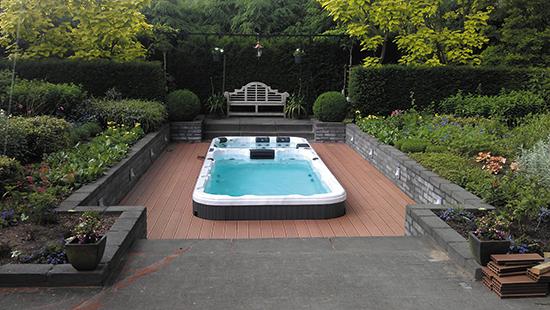 Гидромассажный бассейн Swimspa Aquatic 3 5,82 X 2.24 х 1,55 м