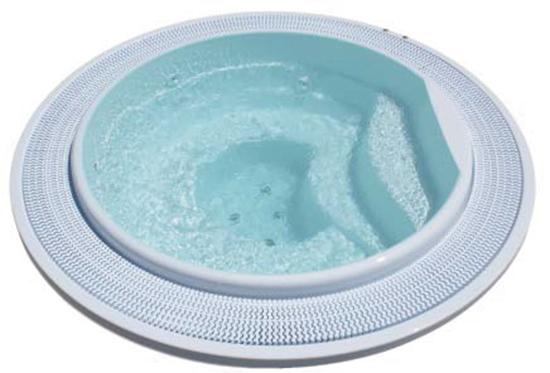 Гидромассажный бассейн Odisea 20 с освещением, разные цвета на выбор, без покрытия