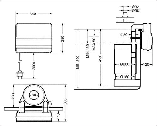 Фильтровальная установка  IS 6, картриджная, навесная (не склеенная)