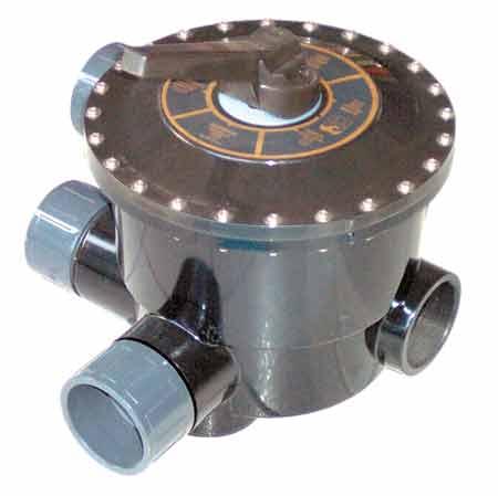 Клапан 6-ти позиционный 4, без фитингов подключения, универсальный (боковой)