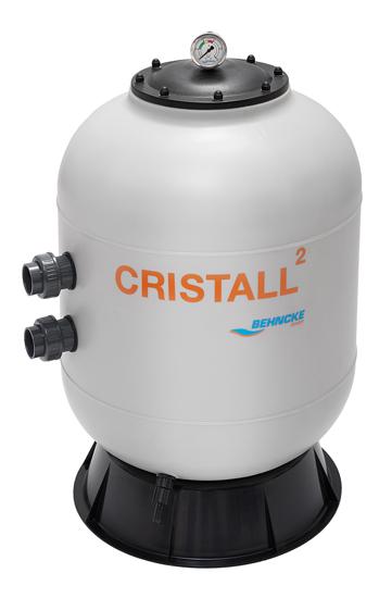 Фильтровальная емкость Cristall 600 с клапаном 1 1/2
