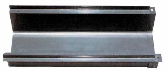 Канал перелива для решетки Euro B, сегмент 520 х 238 х 130 мм