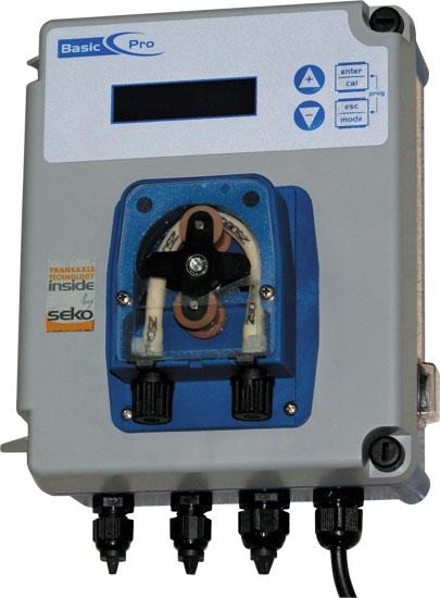 Станция дозировки коагулянта  BasicPro с ручной регулировкой от 15,1 мл/час до 151 мл/час