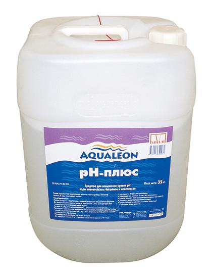 Жидкий рН плюс Aqualeon, канистра 35 кг (30л)