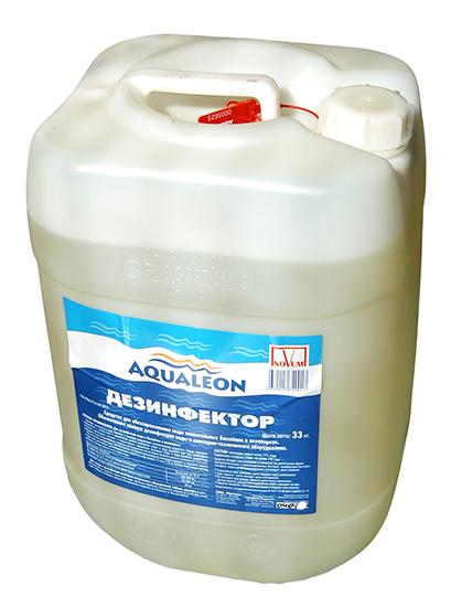 Жидкий хлор Aqualeon, канистра 33 кг (30л)
