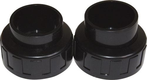 Накидные гайки с втулкой для подкл. фильтра, 2 1/2, пара