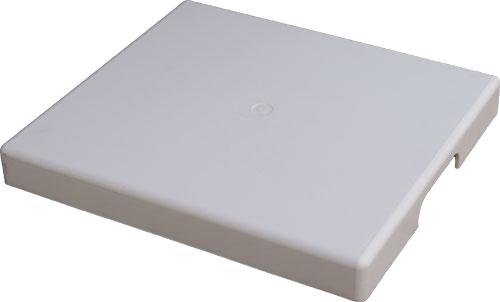 Поддон 400 х 450 мм, белый, для монтажа фильтров/нагревателей