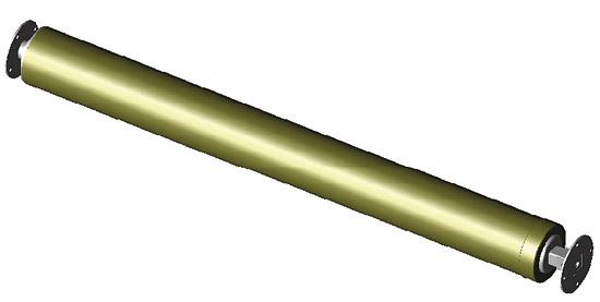 Барабан ROLLFIX до 4.0 х 12 м, диаметр барабана 110 мм