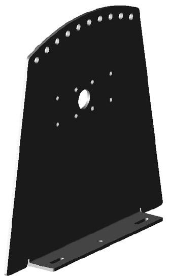 Барабан ROLLFIX, консоль для монтажа на полу (1 шт.)