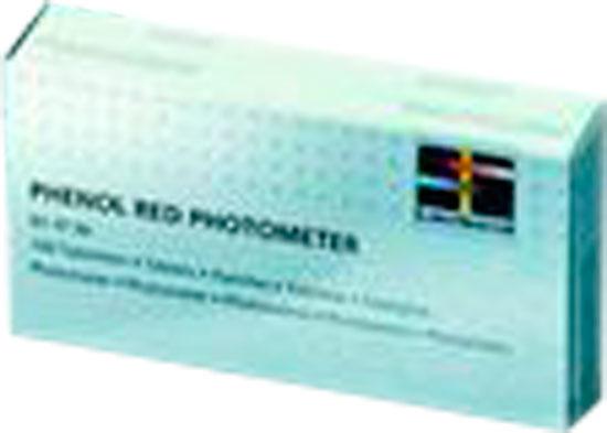 Запасные таблетки LOVIBOND для прибора Scuba (не для Scuba II и фотометров) 4 X 10 шт. (DPD FREE, DPD TOTAL, PH, Stabilizer) упаковка