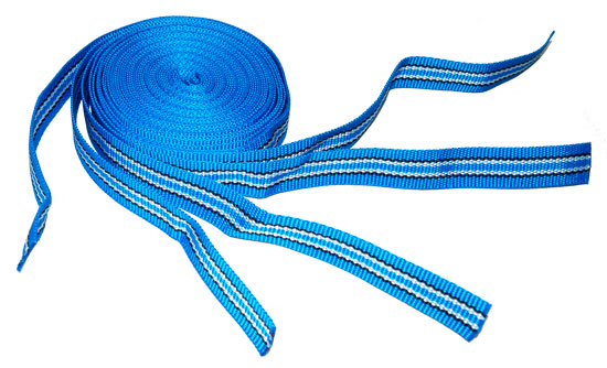 Крепежные ленты для барабана NOVOLUX, комплект из 5 шт. (синие)
