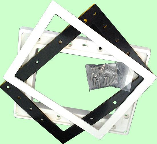 Комплект рамки, фланца, уплотнения и крепежа для скиммера Classic 1 (0421190000)
