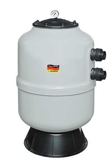 Фильтровальная емкость NOVUM Stuttgart 500 мм, серый цвет, без клапана 1 1/2