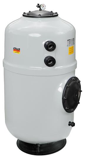 Фильтровальная емкость NOVUM Frankfurt 500 мм, серый цвет, без клапана 1 1/2