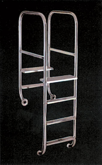 Монтажный комплект для лестниц IDEAL (TINA, SWING, Olympia и др.), фланцы, пара