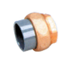 Накидная гайка PVC/бронза D 50 х 1 1/2 ВР