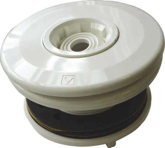 Дюза ЕВРО, с вставкой 14/20/25 мм, гайкой, фланцем и уплотнением, подкл. 2 х 50 мм для пленочного бассейна