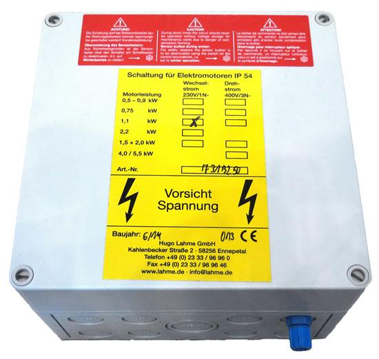 Пневмовыключатель PN для потребителей до 1.1/1.3 кВт, 220 В