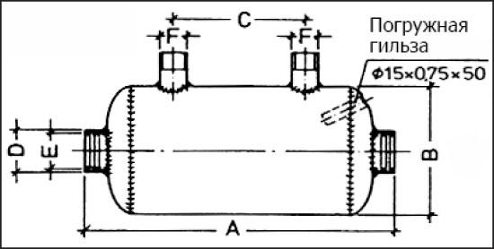 Теплообменник  QWT 104, 104 кВт (внутр. р-ба 2 )