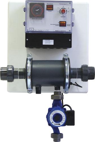 Теплообменник  PW  20, (20 кВт, 230 В, блок управления LC 230, настенный монтаж)